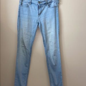 Non Ripped Hollister skinny jeans